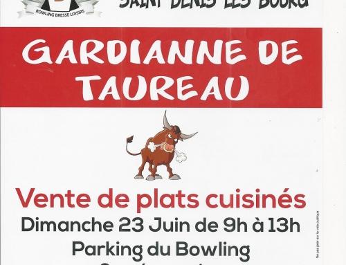 Traditionnelle vente de Gardianne de Taureau du Club de Bowling