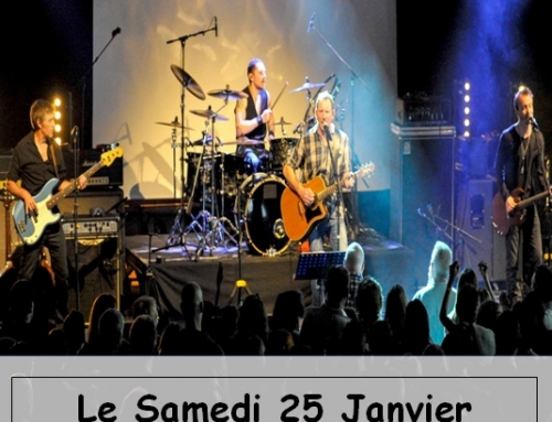 Concert, Grande reprise du groupe ROCKROAD le Samedi 25 Janvier 2020