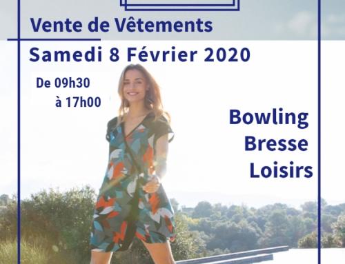 Vente de vêtement Captain Tortue ce Samedi 8 février 2020