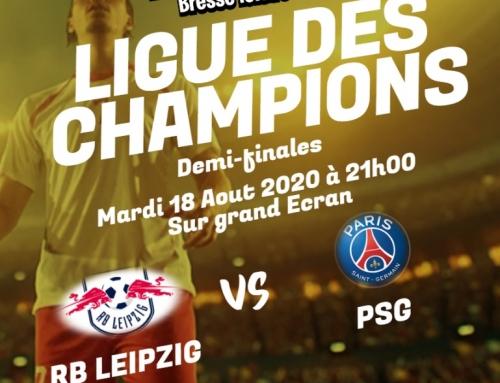 Retransmission mardi 18 Aout 2020 Demi-Finales RB LEIPZIG / PSG
